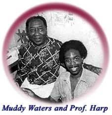 Muddy Waters and Professor Harp